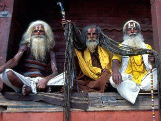 Rasta and Sadhu