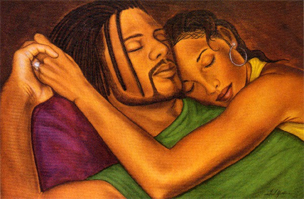 Love black art couples having sex will know