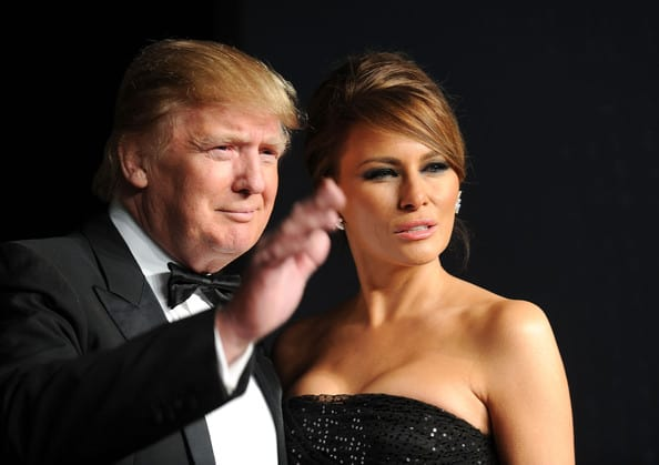 Donald Trump and wife Melania