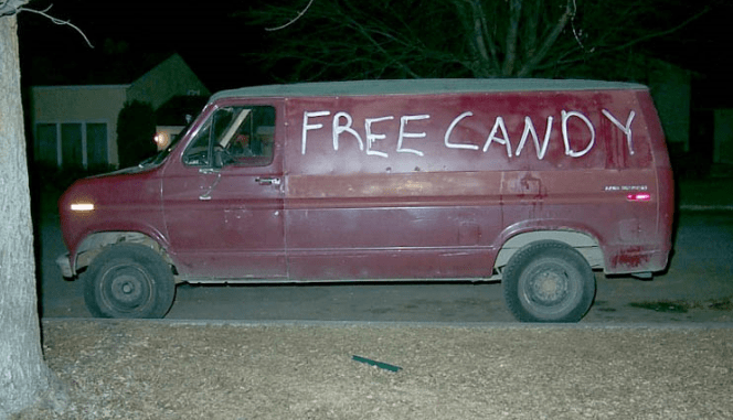 child molester van