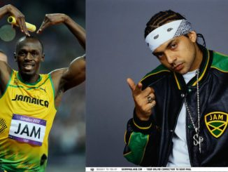 usain bolt and sean paul