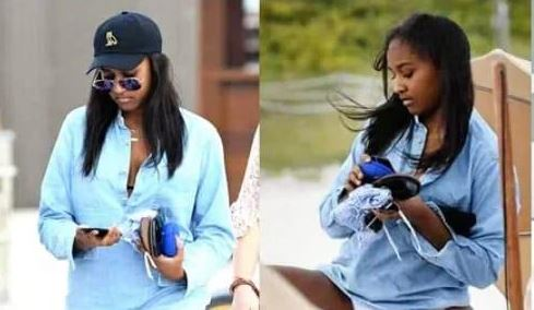 Barack Obama's daughter, Sasha Obama