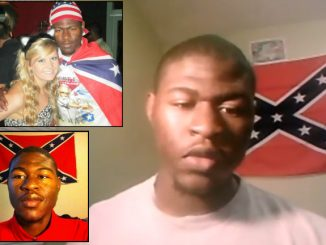 Uncle Tom's confederate flag