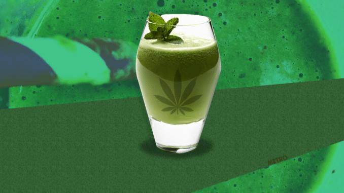 Marijuana Smoothie