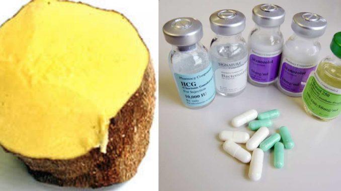 Jamaican Yellow Yam vs American Steroids