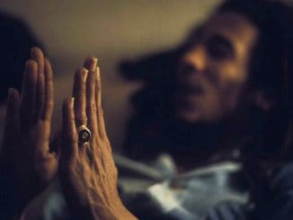 Bob Marley with 5 point star ring