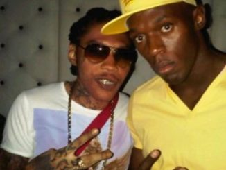 Vybz Kartel and Usain Bolt
