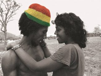 Bob Marley and Esther Anderson