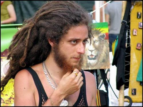 White jamaicans with dreads