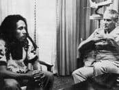 Bob Marley and Michael Manley