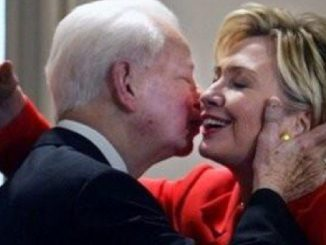 Hillary Clinton and James Bird