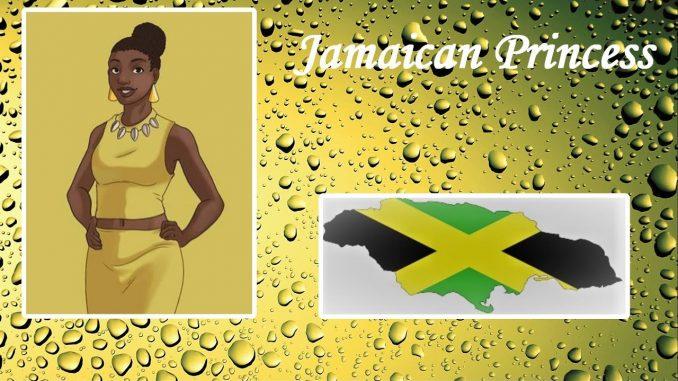 Jamaica's Princess Lana