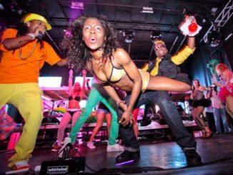 Jamaican women dirty dancing