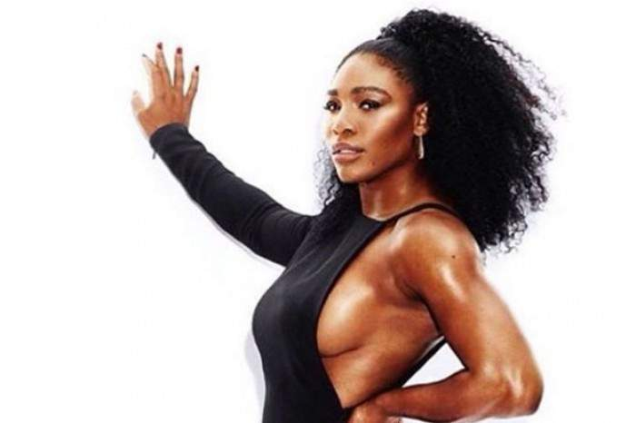 Serena williams boob trabajo