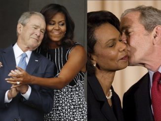 George Bush loves Black women