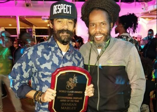 Damian Marley and Garfield Chin