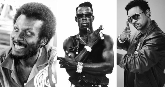 Jimmy Cliff, Shabba Ranks and Shaggy