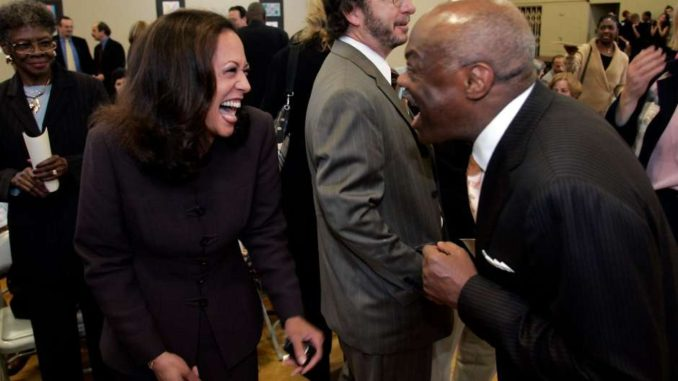 Kamala Harris and Willy Brown