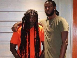 Buju Banton and his son Markus Myrie