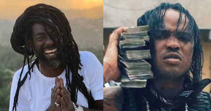 Buju Banton and Tommy Lee Sparta