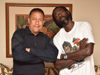 Gary Griffith and Buju Banton