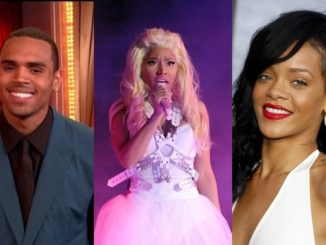 Chris Brown, Nicki Minaj and Rihanna