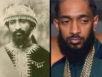 Haile Selassie and Nipsey Hussle