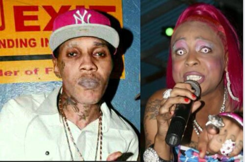 Vybz Kartel and Lisa Hyper