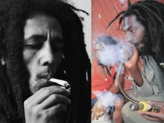 Bob Marley and Buju Banton