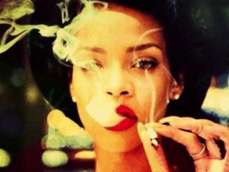 Rihanna smoking marijuana