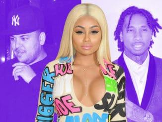 Rob Kardashian, Blac Chyna and Tyga