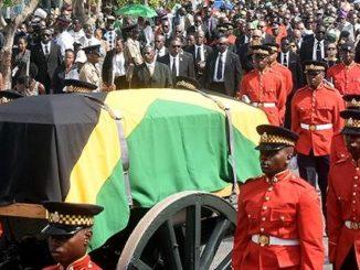 Edward Seaga casket