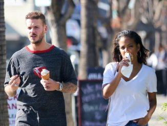 Biracial couple: Chritina Milian and her boyfriend