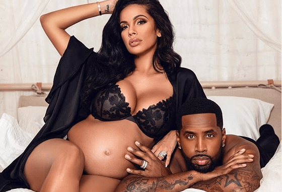 Safaree and pregnant wife