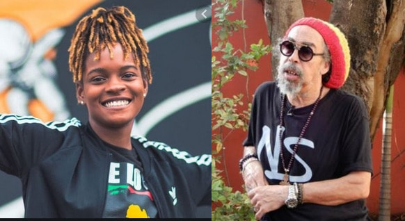 Koffee and Cat Coore of Reggae Group Third World