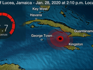 Earthquake in Jamaica