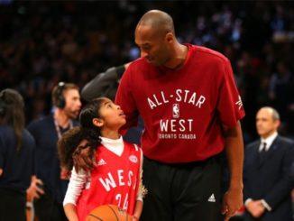 Kobe Bryant and daughter