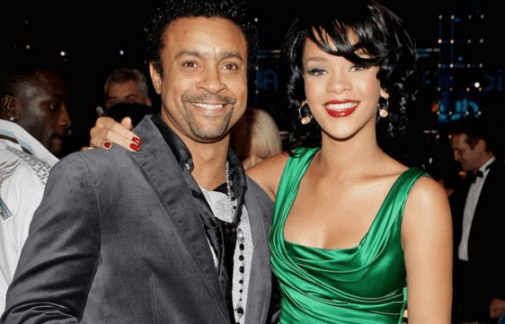 Shaggy and Rihanna
