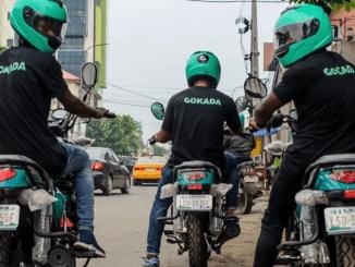 Nigerian bike hailing startup