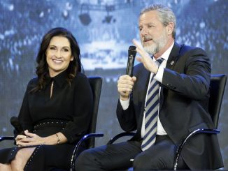 Jerry Falwell and his wife