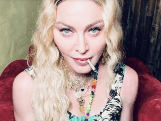 Madonna smoking weed in Jamaica