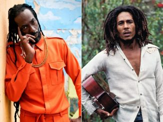 Buju Banton and Bob Marley