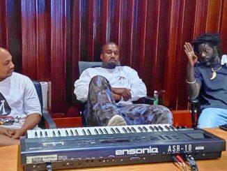 Kanye West and Buju Banton