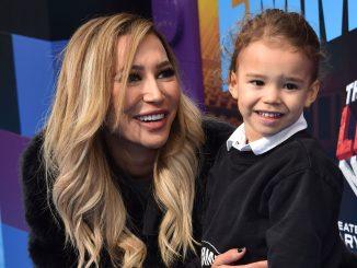 Naya Rivera and son
