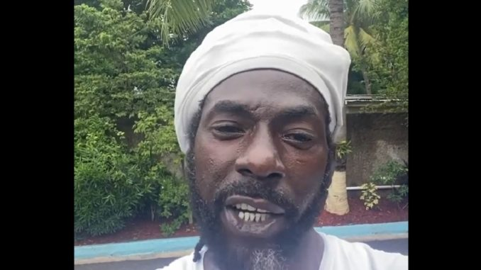 Buju Banton teeth