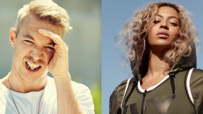 Diplo and Beyonce