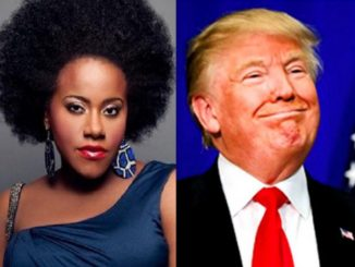 Etana and Donald Trump