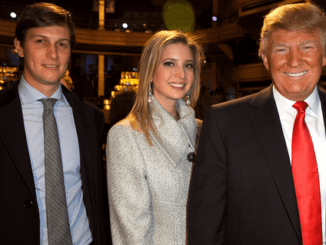 Jared Kushner, Ivanka Trump and Donald Trump