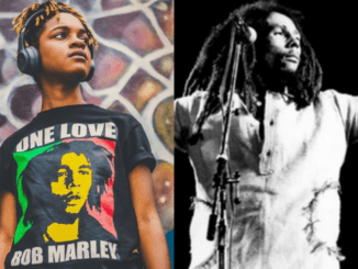 Koffee and Bob Marley